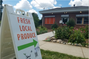 The home office of Sprout Urban Farms is now owned instead of leased from the Calhoun County Land Bank.