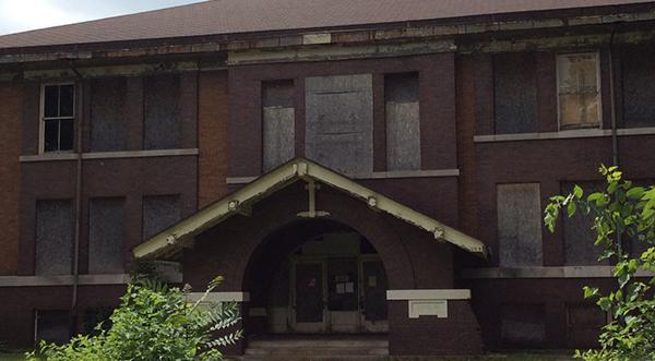 Austin School, 709 N Clinton, Albion