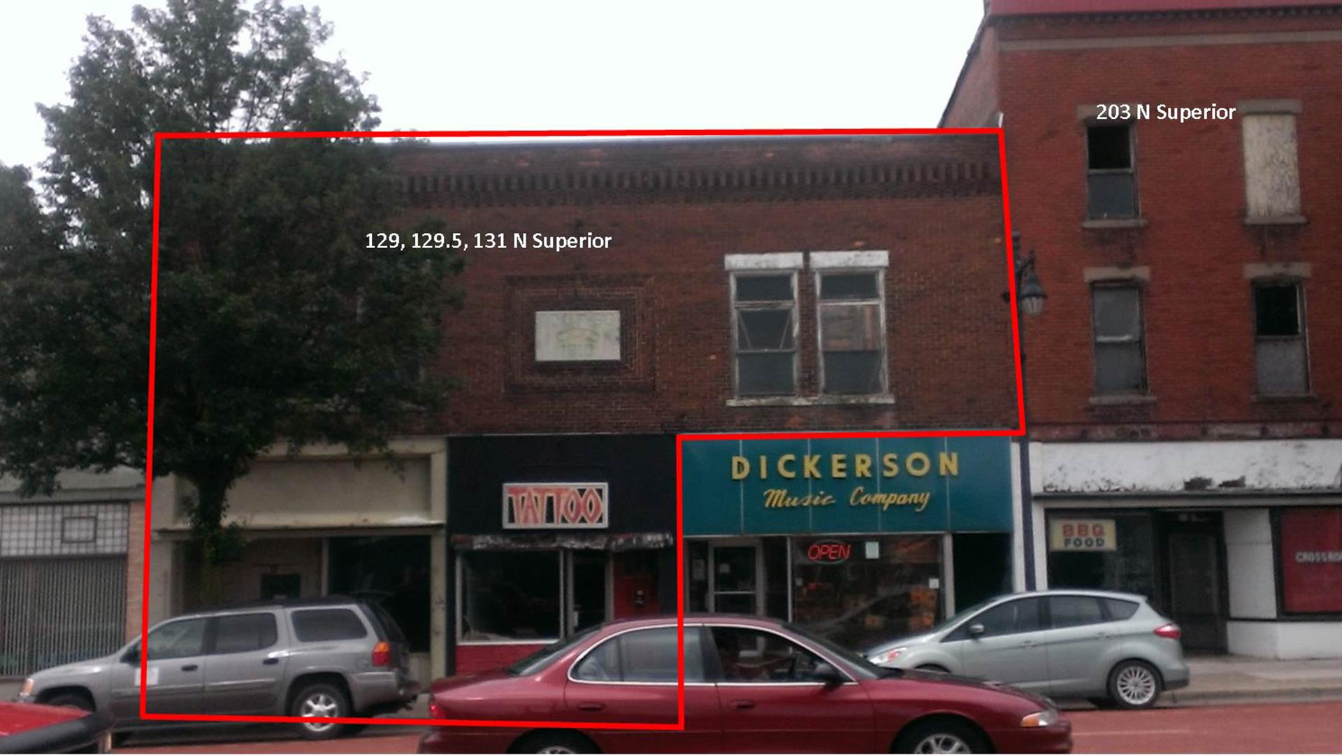 129 – 131 N. Superior St., Albion